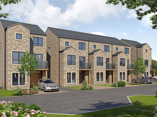 New Housing development Kirkheaton